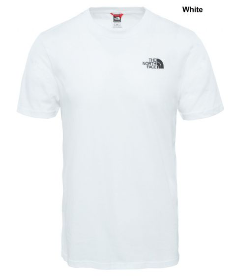 The North Face Mens Simple Dome Tee - Cotton Plain T-shirt